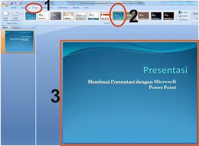 Membuat presentasi dengan Microsoft Power Point