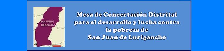 Mesa de Concertación Distrital para el desarrollo y lucha contra la pobreza de San Juan de Luriganc