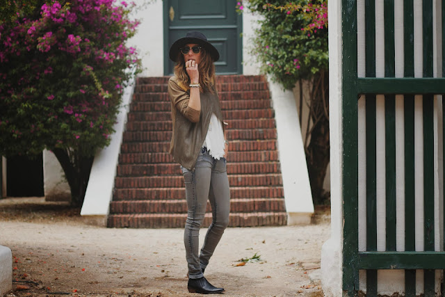 Leather, Hat, Layering, Fall, Trend, Michael Stars