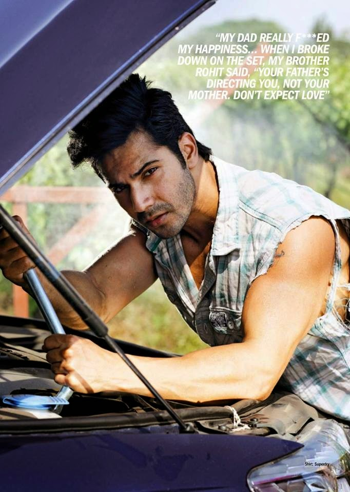 Varun Dhawan's Filmfare hot photoshoots