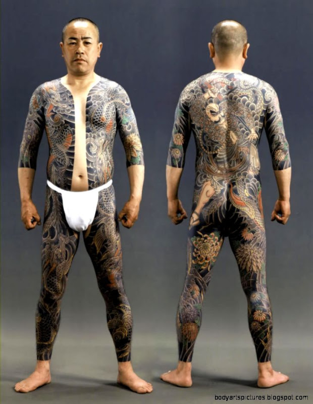 Yakuza Tattoos  Share on