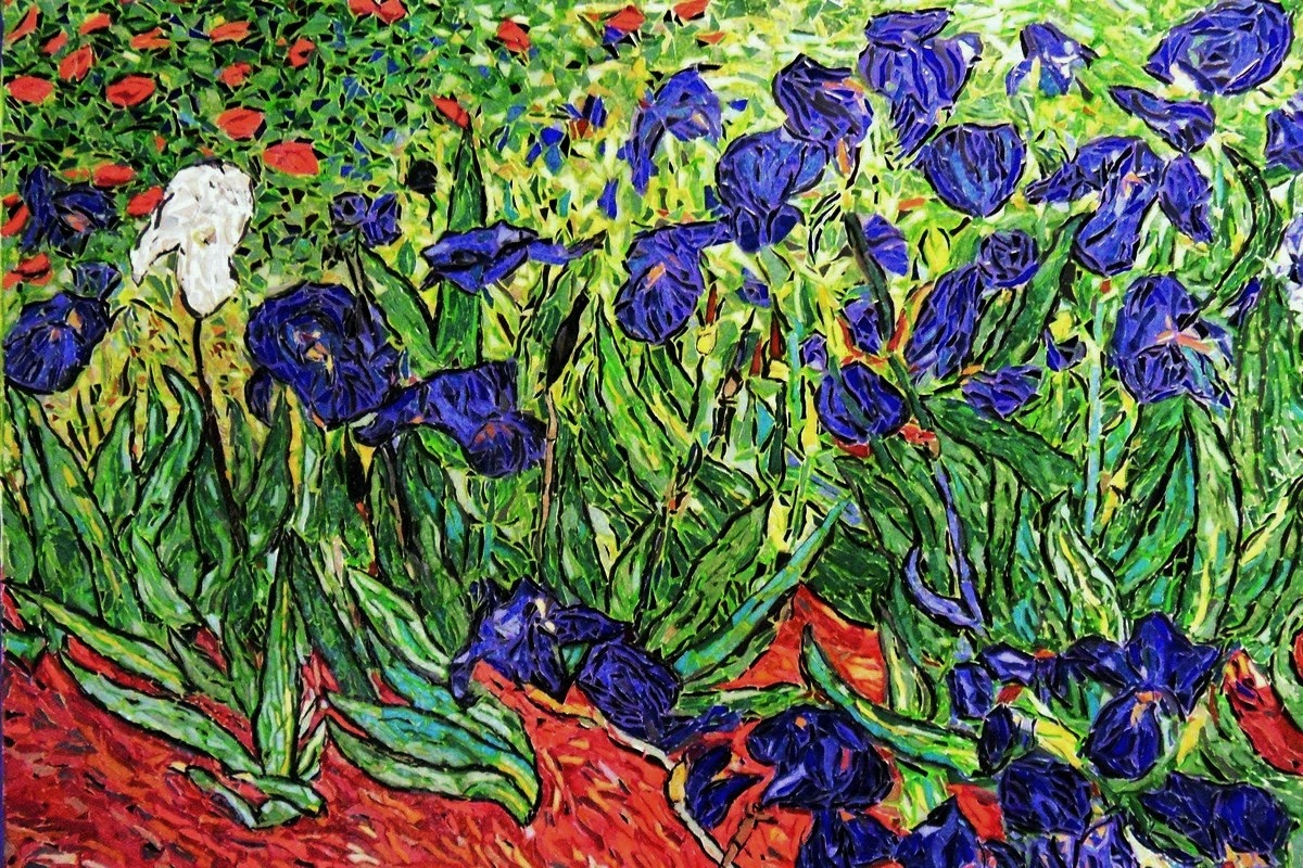 irises of vincent van gogh essay Van gogh's night visions for vincent van gogh in an essay for the exhibition catalog, pissarro tries to clear up some popular mythology.