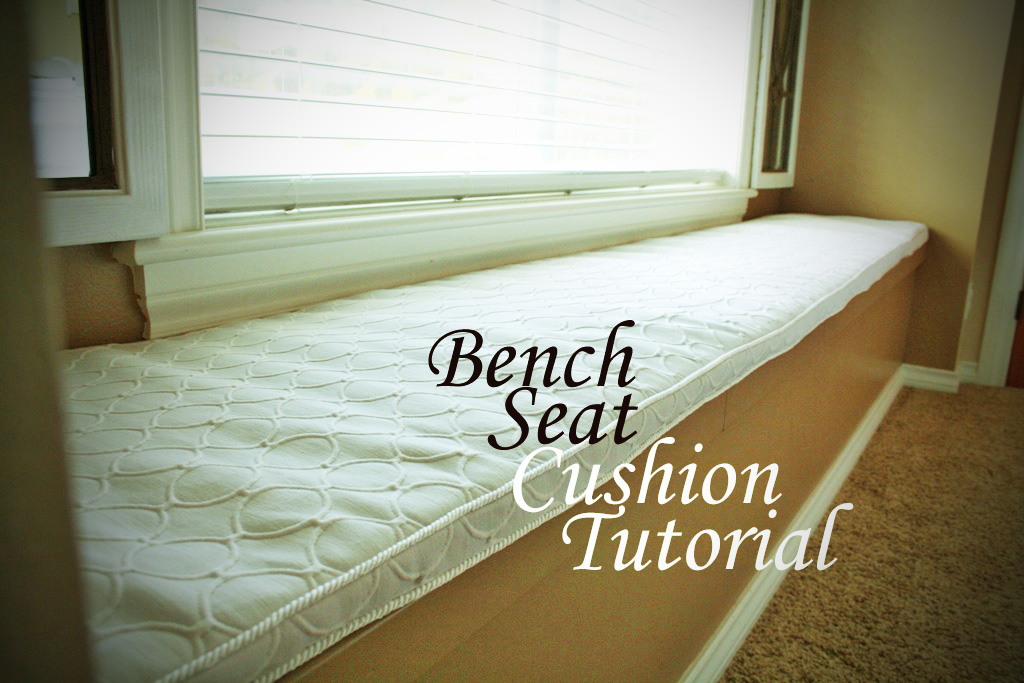 Diy Bench Seat Cushion Tutorial