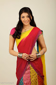 Kajal Agarwal Cute Half Saree Hot photo Shoot-thumbnail-12