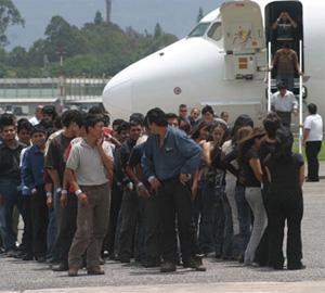 deportados honduras inmigrantes estados unidos