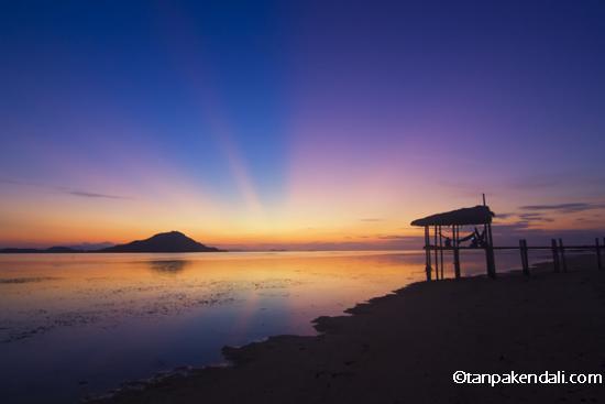 Sunset Kanawa Island
