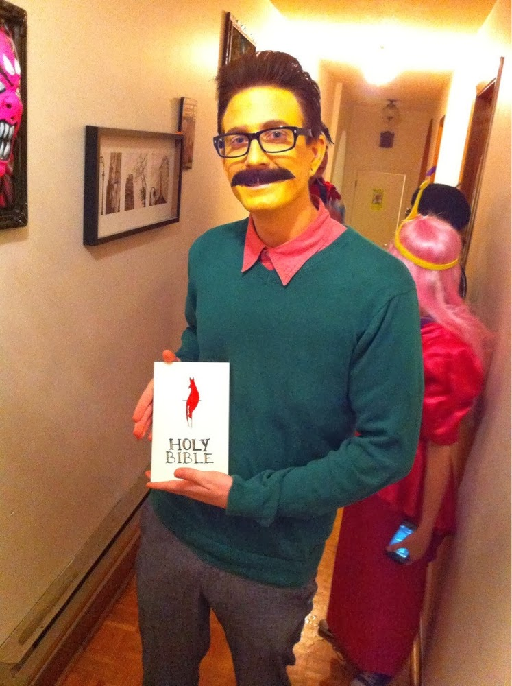 Hi diddily ho, Ned Flanders! The Simpsons Costume