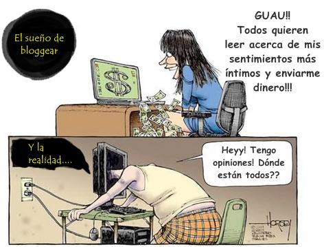 Sueños y realidad de un blogger. HUMOR. CUIDADO con los HUEVOS