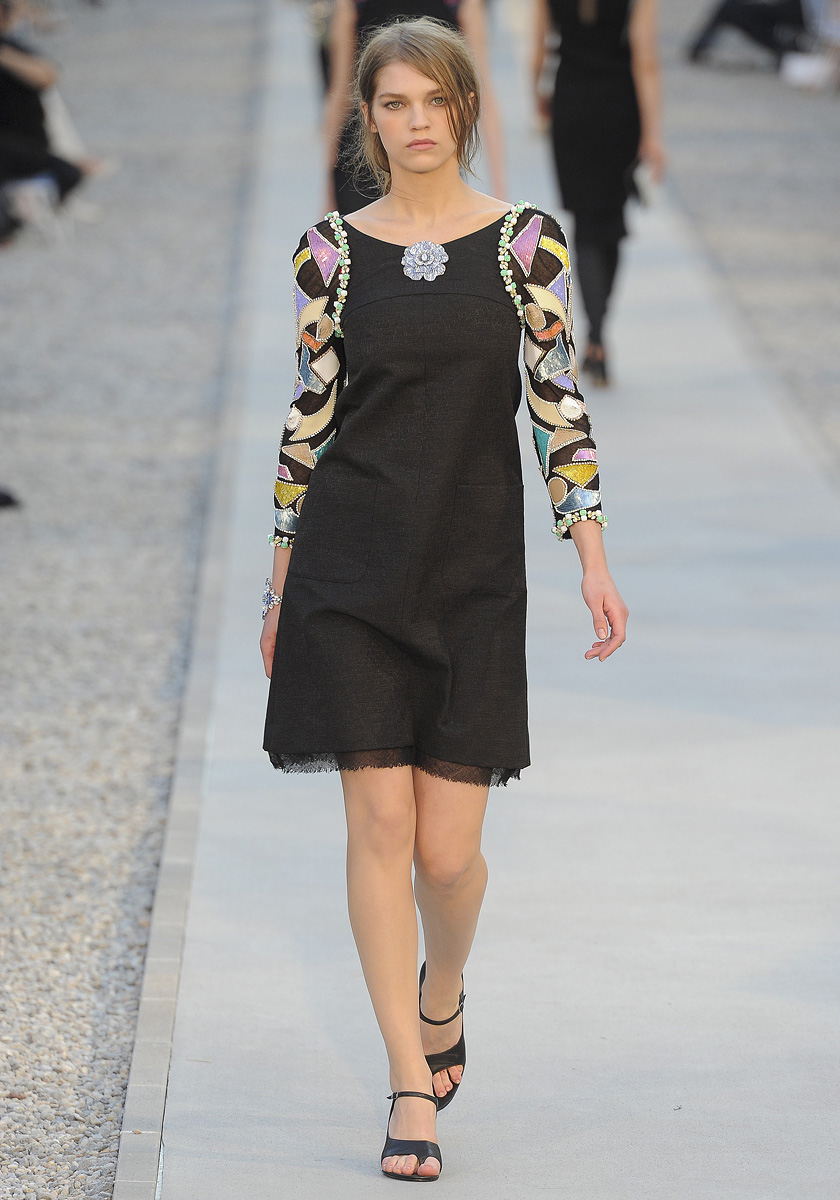 Being Glamorous: Chanel Cruise 2012 Collection