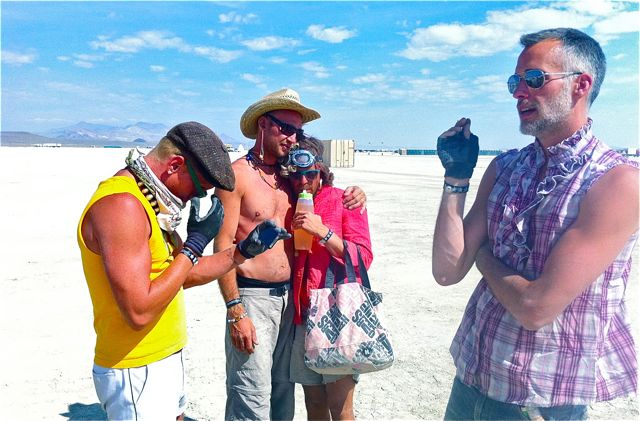 Paul Festa's Archive Fever: Burning Man Photo Essay, Part 4: MOOP Squad: Todd