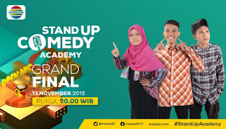 Pemenang Juara 1 Stand Up Comedy Academy Indosiar Grand Final