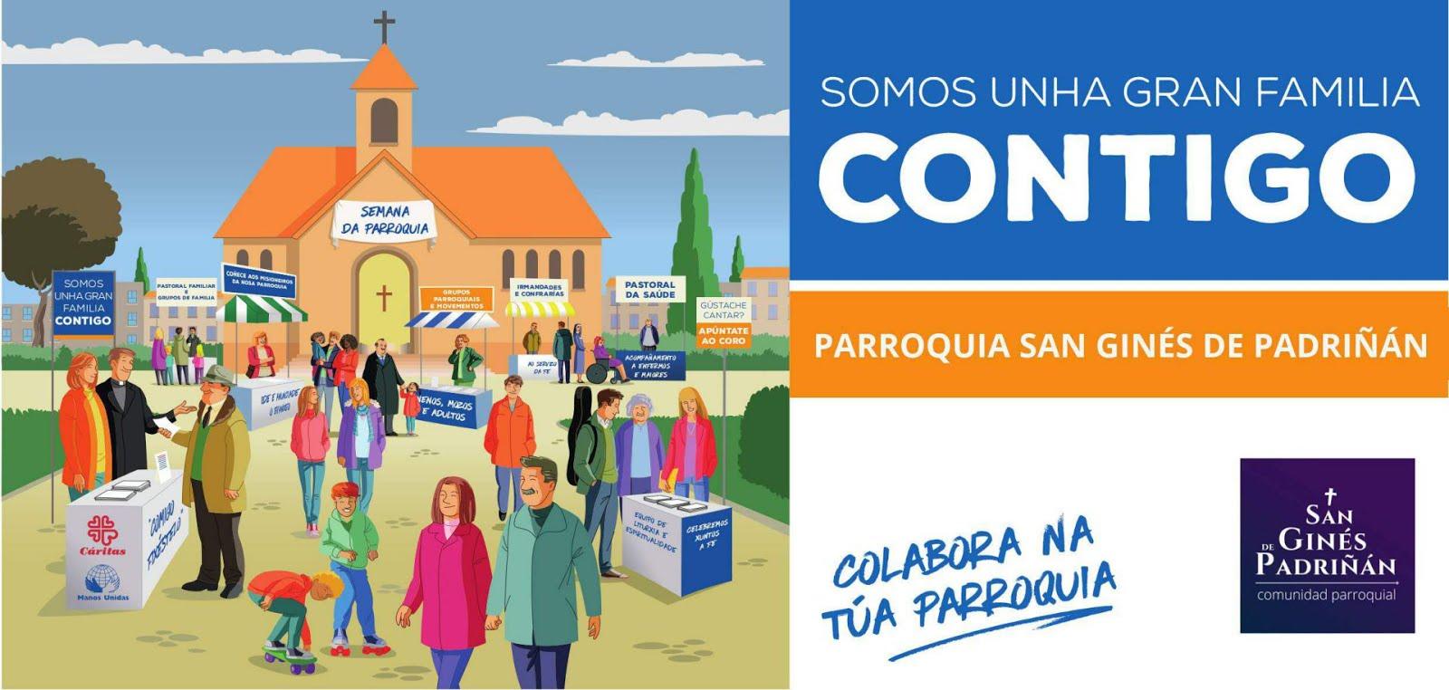COLABORA CON LA PARROQUIA