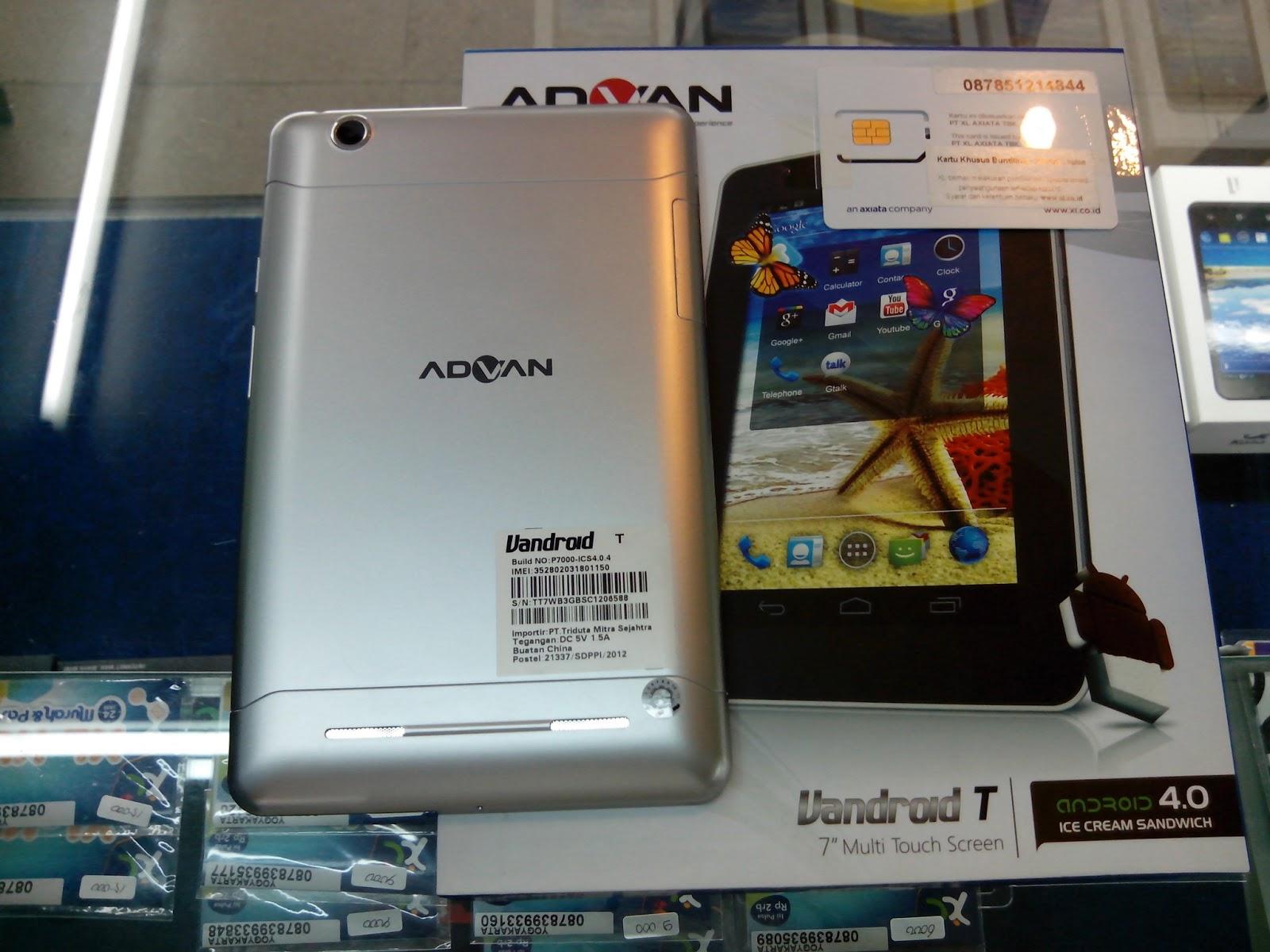 Advan Vandroid T 7 Tablet Bisa Call Dan Sms Dengan Harga Terjangkau