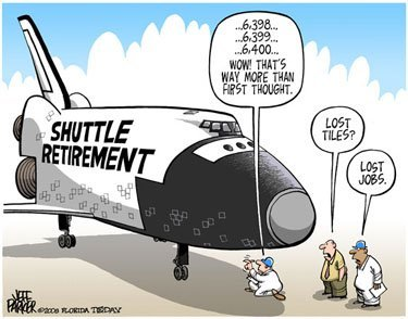 Why did space shuttle program end