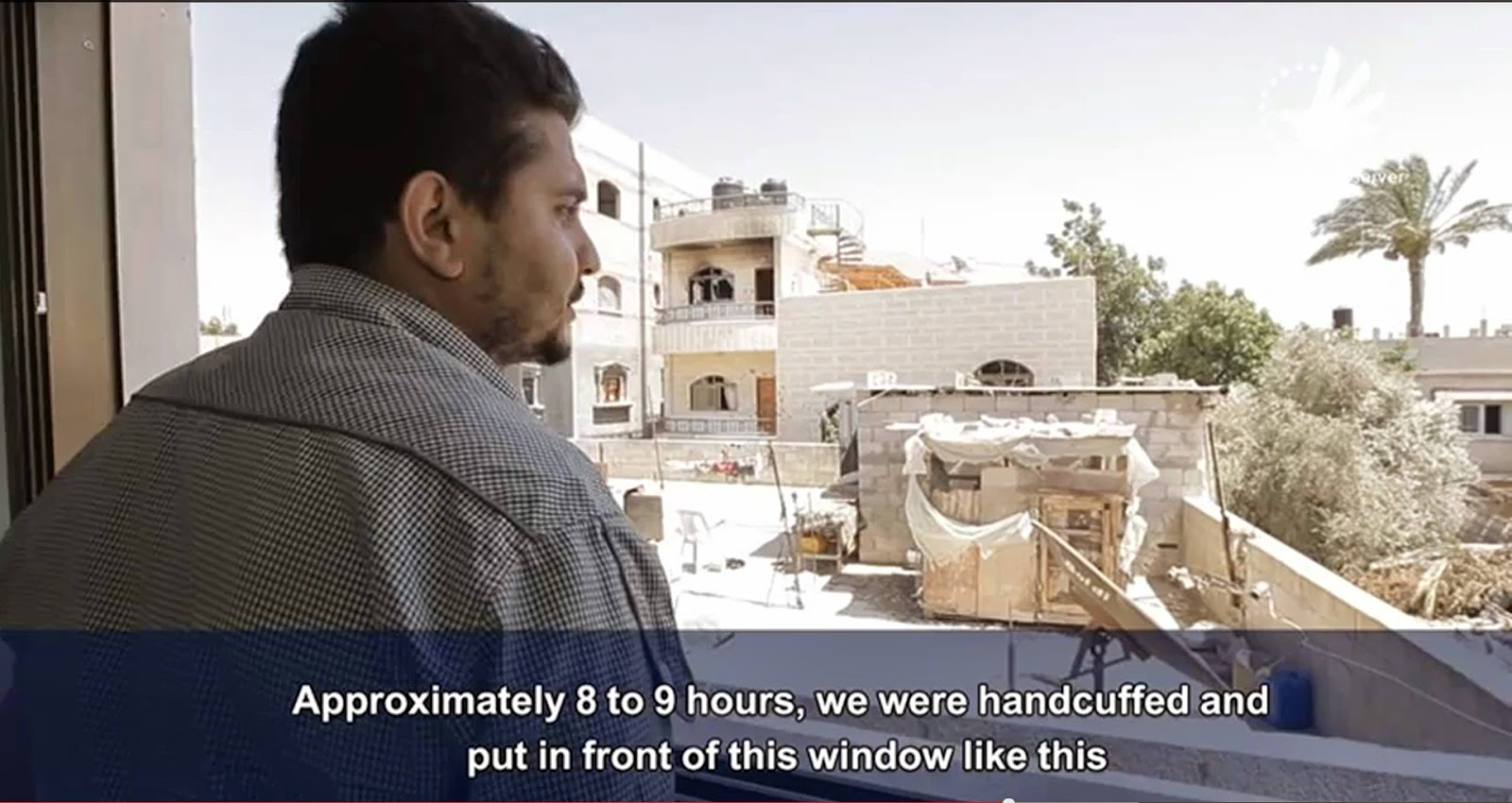 rakyat palesti jadi perisai Israel