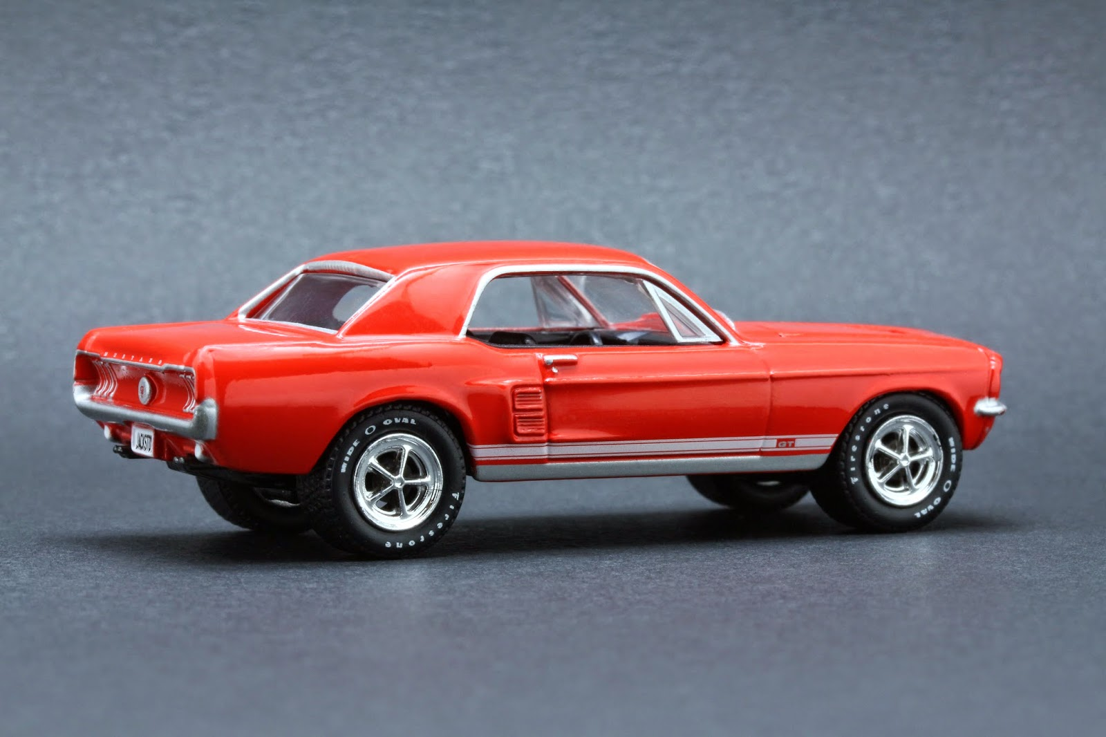 diecast hobbist 1967 ford mustang gt coupe. Black Bedroom Furniture Sets. Home Design Ideas