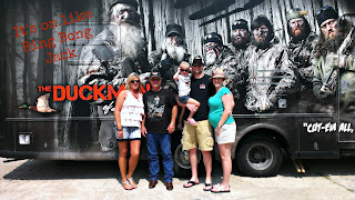 his HEY JACK shirt and it fit right in with the Duck Dynasty crew