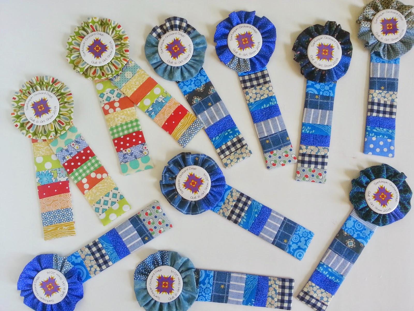 Handmade Quilt Show Fair Ribbons