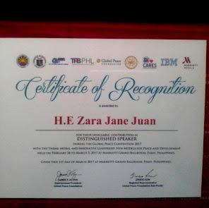 Amb. Zara Jane Juan