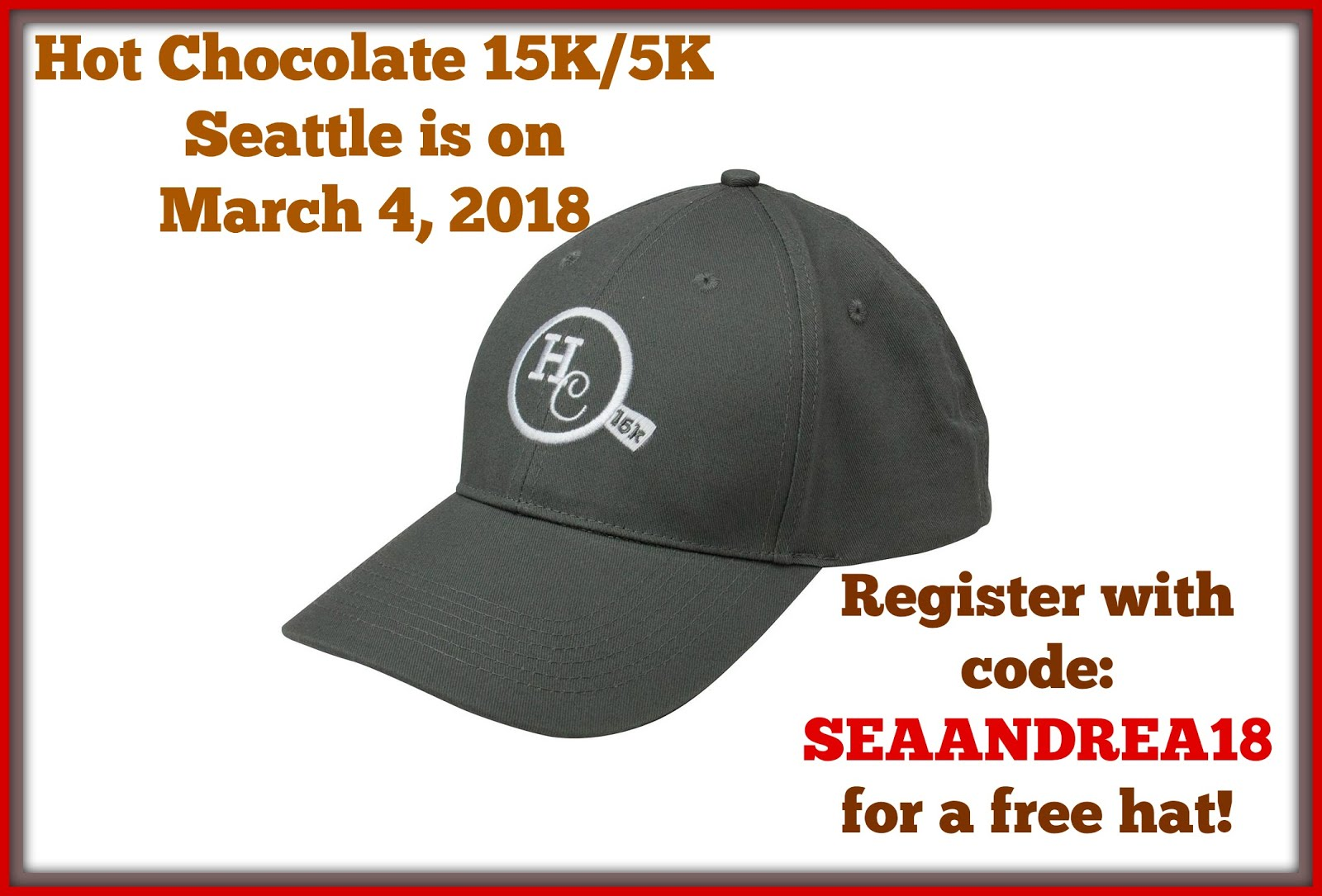 Hot Chocolate 15K/5K March 4, 2018
