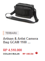 Artisan & Artist Camera Bag GCAM 1100