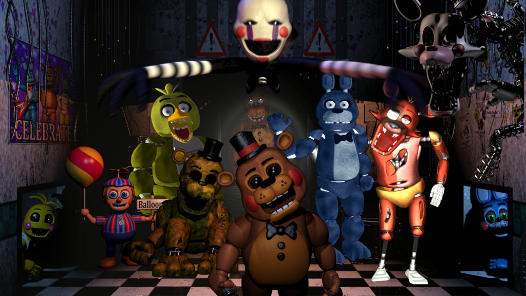 Five nights at freddy s unblocked games 66 at school
