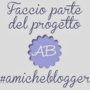 FOLLOW US #amicheblogger