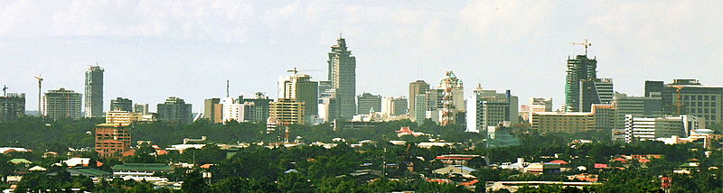 Panoramic view of Cebu <b>City</b>