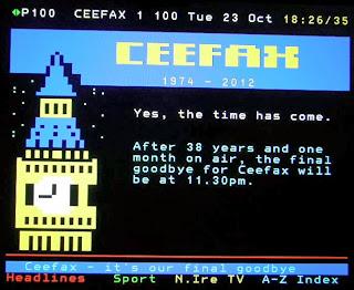 Ceefax Closing Down Screens (c) Souriau