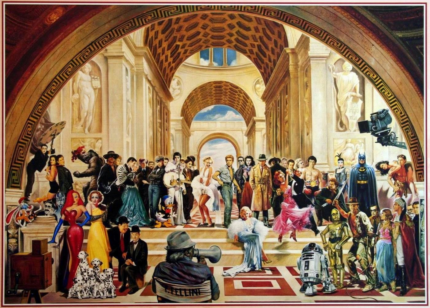 englishattacks: Who's who in the School of Athens