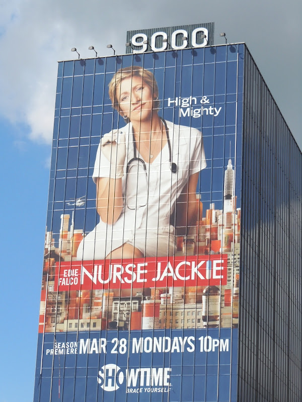 Giant Nurse Jackie season 3 billboard