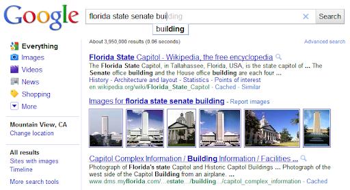 Enhanced Google Search Auto-complete