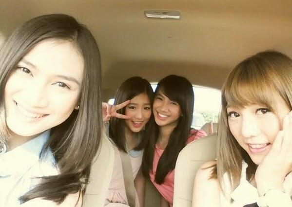Foto Melody, Haruka Nakagawa, Shania, Aki Takajyo