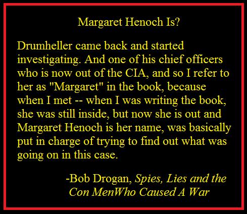 Judith Miller vs. Margaret Henoch