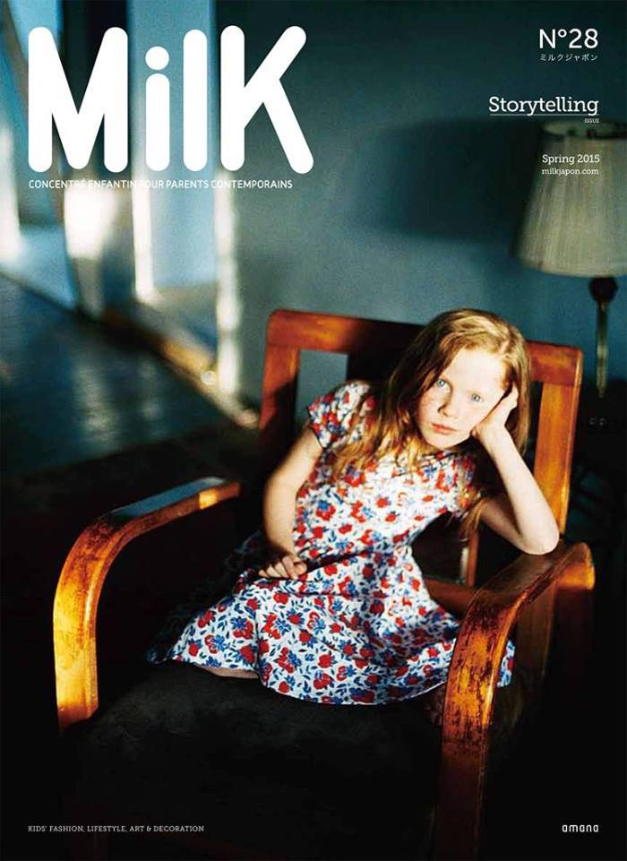Milk Japon magazine 2015