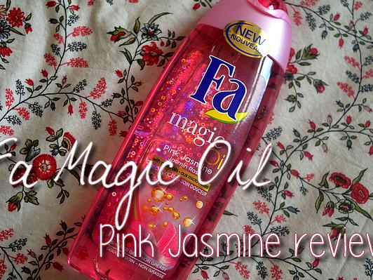 FA MAGIC OIL PINK JASMINE ♥ REVIEW ♥