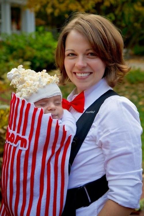 Disfraz palomitas fantasia pipoca pop corn costume