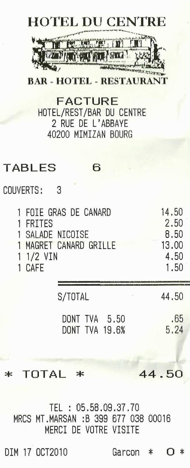 Nuestras escapadas familiares nuef restaurante du for Menu tipico frances