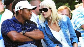 Tiger Woods Professional Golf Star And His Wife Both Together In These Images Gallery.