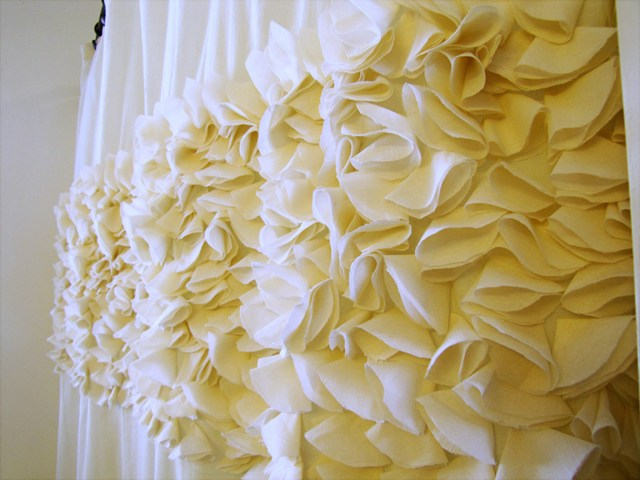 mama says sew: Flower Petal Shower Curtain
