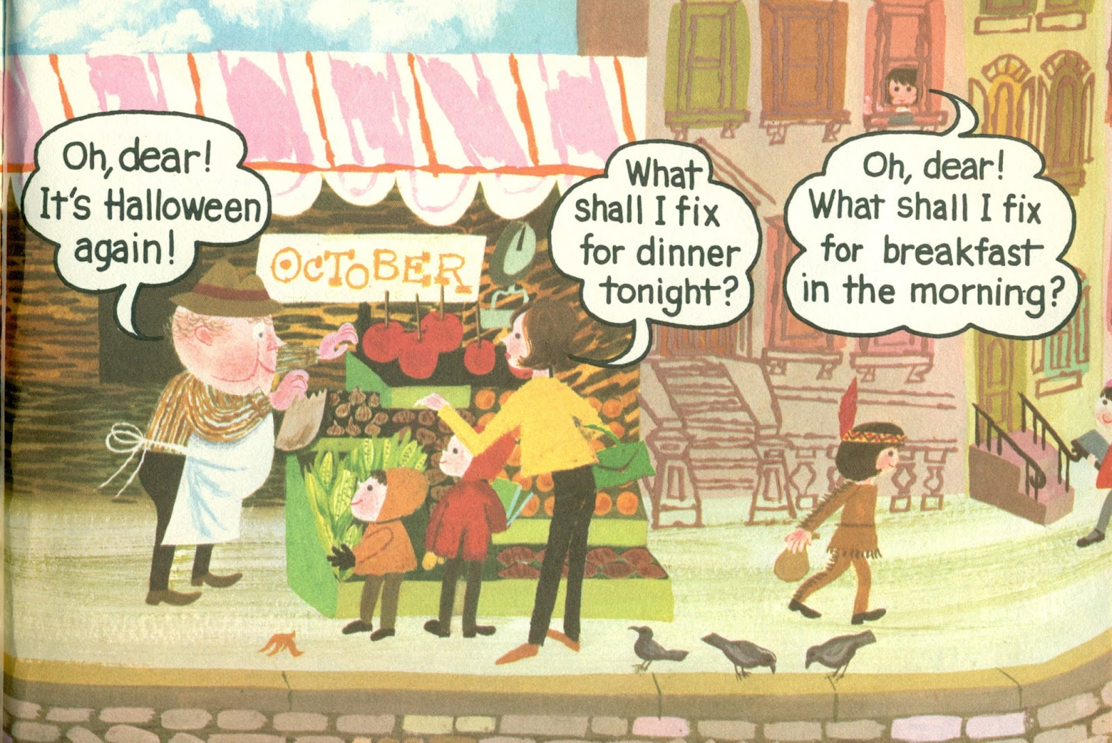 ... Fix For Dinner Tonight And Breakfast In The Morning. After All, We  Should Plan These Things So That We Will Know What We Need To Buy From Mr.  Jolly!