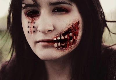 Valentine One: Halloween Makeup - Very Easy Halloween Makeup