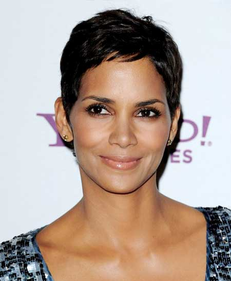 Halle Berry's Short Hairstyle
