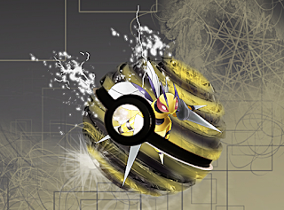 Beedrill in pokeball