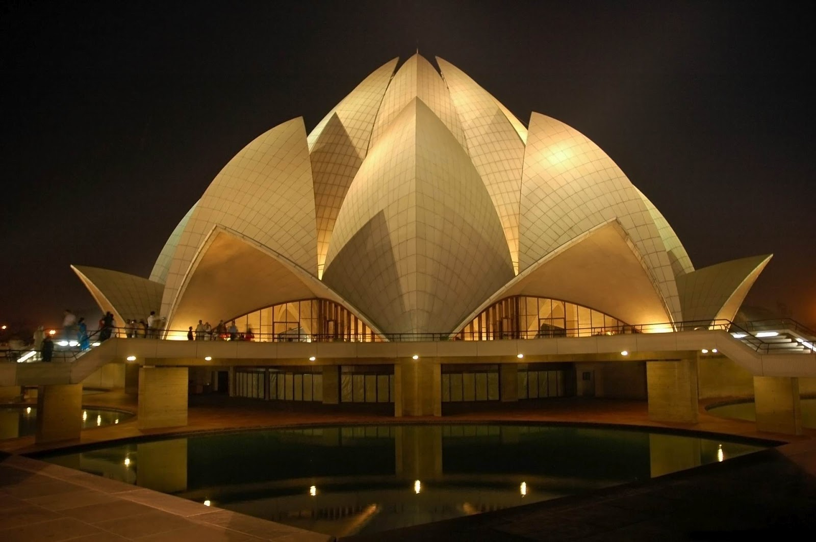 Lotus Temple India Facts Land