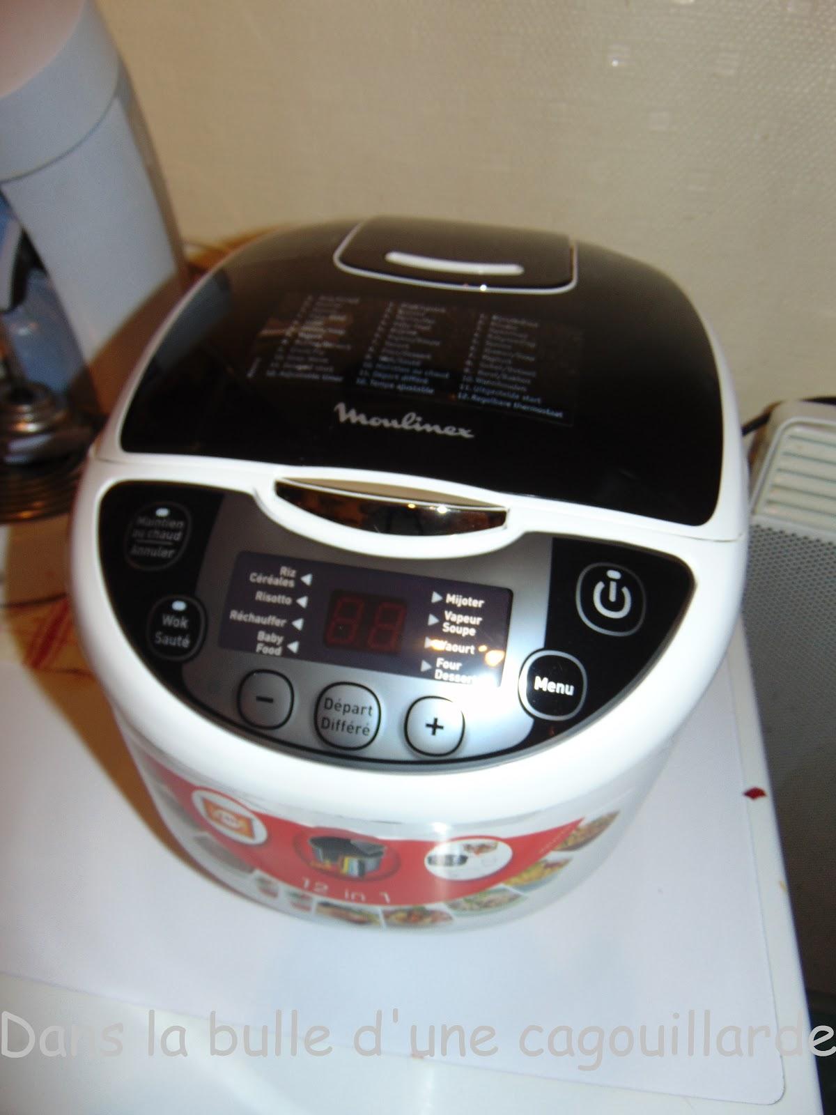Dans la bulle d 39 une cagouillarde la cagouillarde cuisine avec un multicu - Multicuiseur philips ou moulinex ...