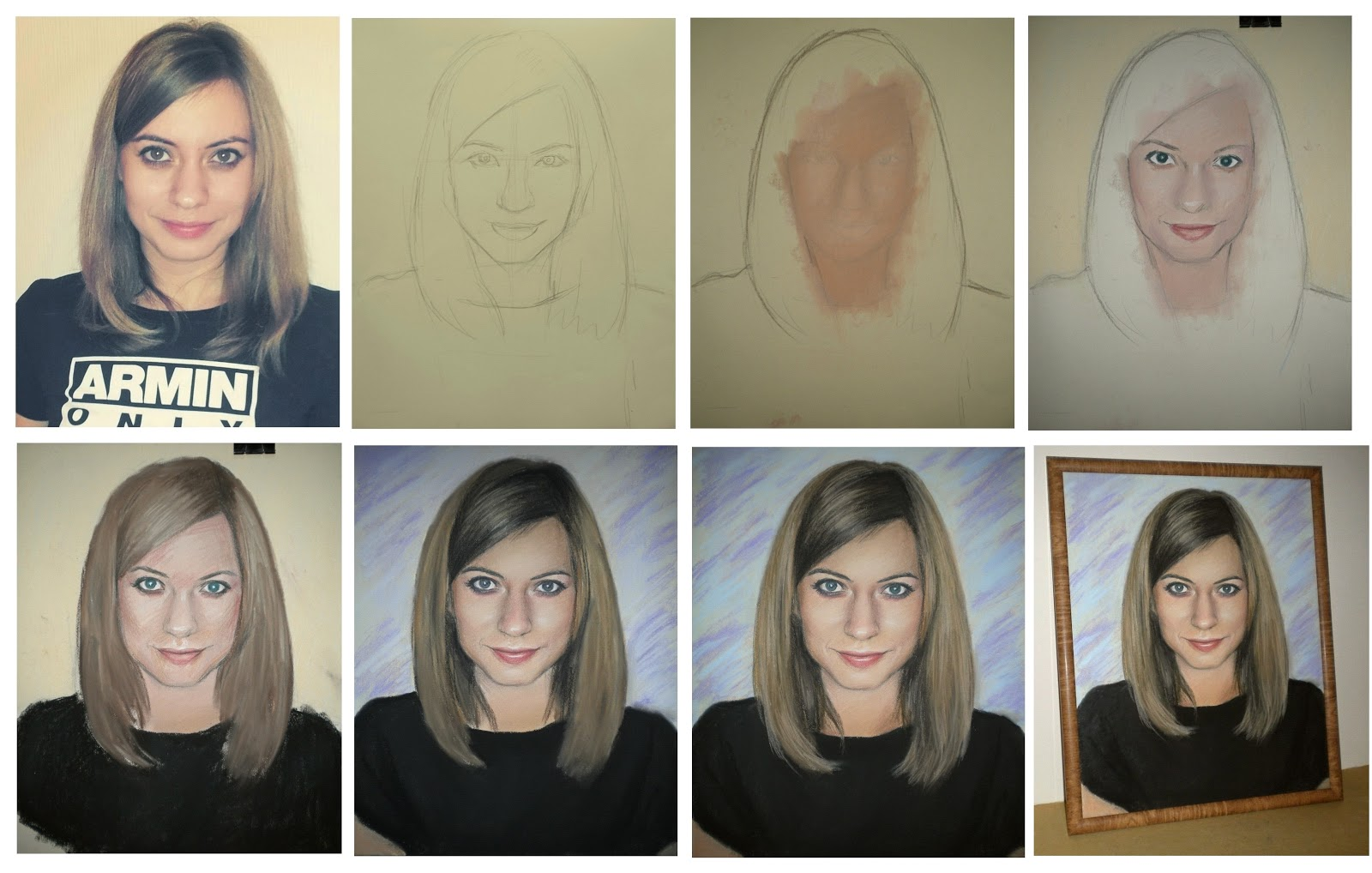 создание портретов по фото