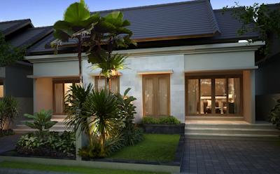 Desain rumah minimalis 1 lantai type120