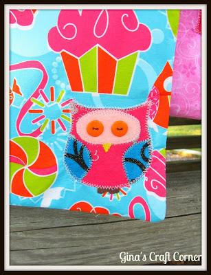 Appliqued Owl
