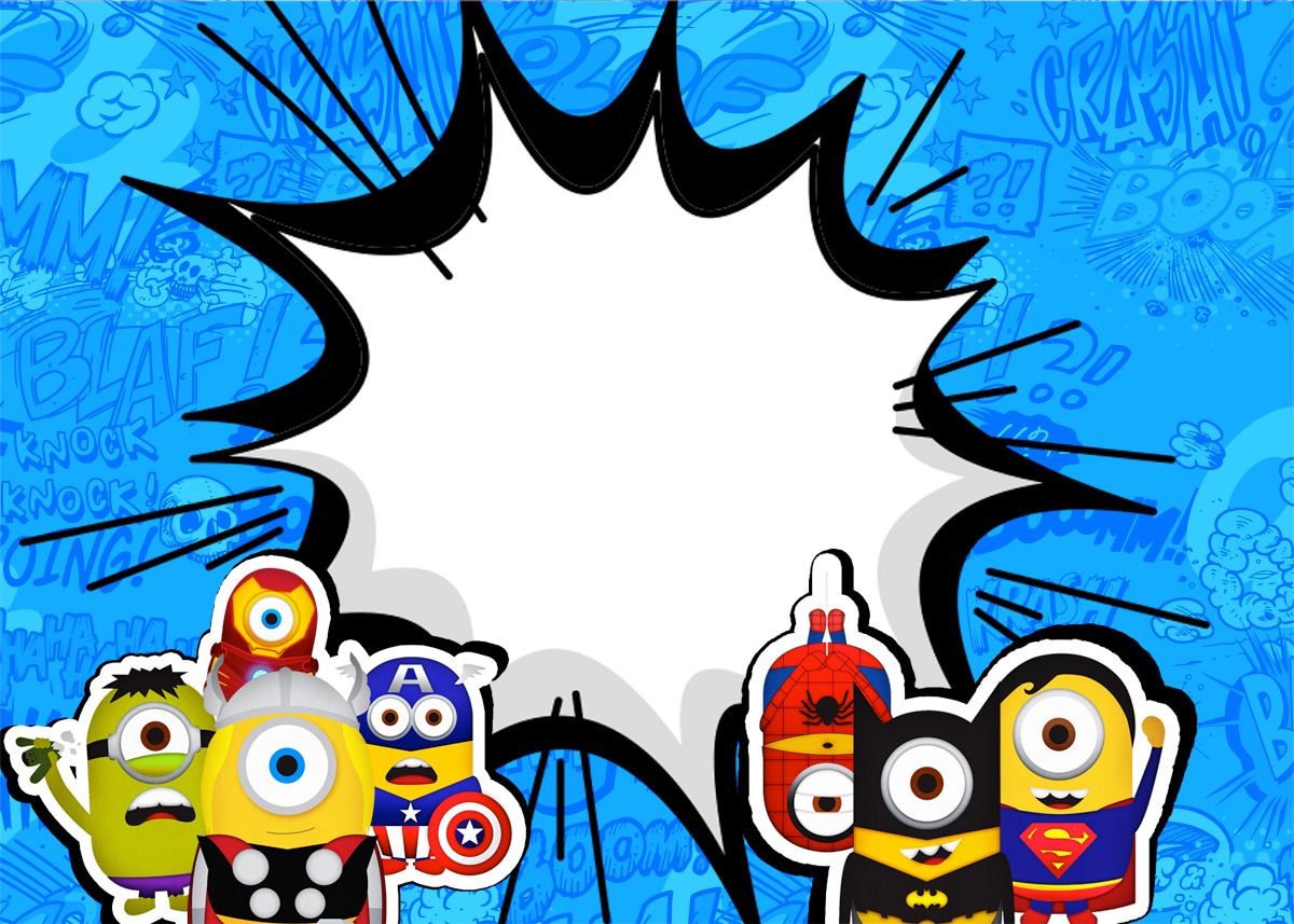 minions superheroes printables invitations oh my fiesta minions superheroes printable invitations labels or cards